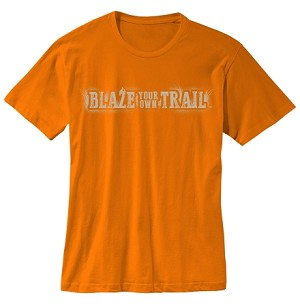 Blaze your own Trail  ORANGE T-shirt