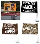 Wholesale Official License Duck Dynasty Car Banners 1/12CT Assortment Display