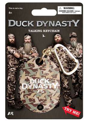 Wholesale Official License Duck Dynasty Talking Keychain