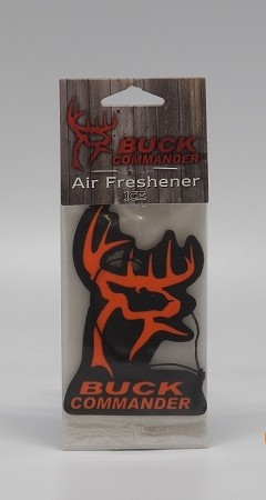 Official License Buck Commander Air Freshener,ICE,