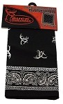 Wholesale Buck Commander Bandana, black 1/12 CT