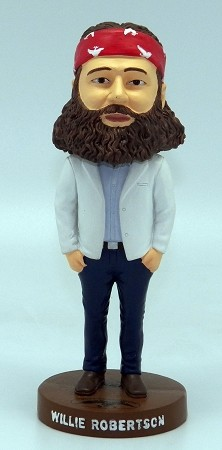 "Duck Commander Bobble-Head -Willie - 6"" tall"