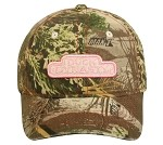 Duck Dynasty REALTREE MAX-1 PINK LOGO LADIES FIT CAP
