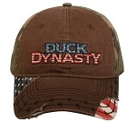 Wholesale DUCK DYNASTY CAP RED WHITE & BLUE LOGO