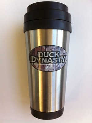 A&E Duck Dynasty CAMO TRAVEL TUMBLER Stainless Steel