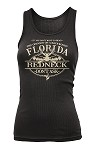 'Your City or State' Custom REDNECK TANK TOP Black/Clear Ladies 1/24CT