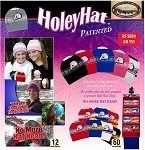 Wholesale Ponytail Hat Licensed 'HoleyHat' Assorted