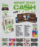 Wrap That Cash Tyveck Assorted Wallet Display 12CT