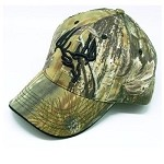 Longleaf Solid back Camo Cap, Black logo