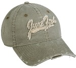 Just Fishing Olive Youth Cap 1/12CT
