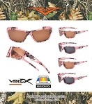 56018CMPOL VERTX POLARIZED POLYCARBONATE ASSORTED PINK CAMO Sunglasses 1/12CT