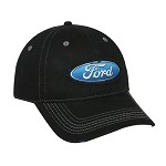 Ford Truck Black Cap with Blue Ford Logo