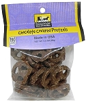 Old Fashioned CHOCOLATE COVERED PRETZELS 3.5 oz. Hanging Bag