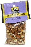 Old Fashioned BUTTER TOASTED PEANUTS 12/CT 4.5 oz. Hanging Bag