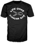 Life Good Cancer Bad™ Men's T-Shirt