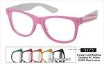 Trendy Wayfarer Designer UV400 Clear Vogue Lens