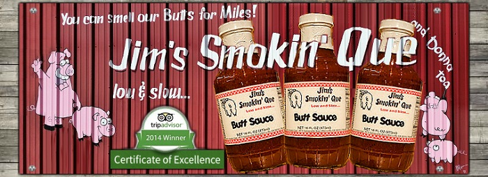 Jim's Smokin' Que Butt Sauce