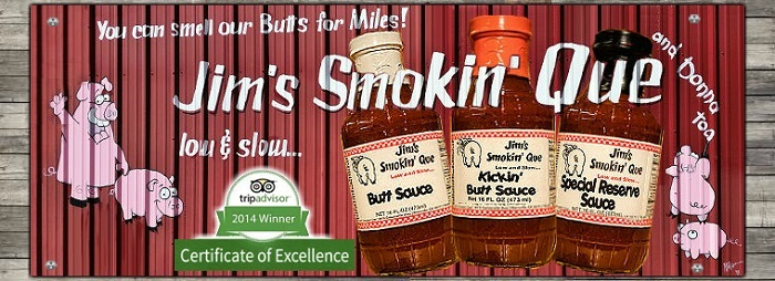 Jim's Smokin' Que BBQ Sauces