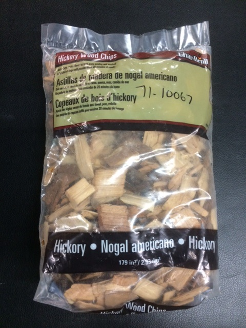 Char-Broil Hickory Wood Chips 1lb 14oz Bag (CLEARANCE)