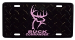 Wholesale Buck Commander License Plate Pink logo