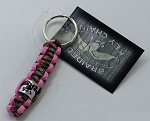Duck Commander Braided Key Chain/duck band, pink