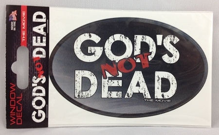 gods not dead window decals made in usa
