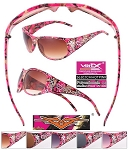 VERTX CAMO Ladies Frame Sunglasses HOT PINK
