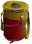 Shotgun Shell Merchandise Pop-Up Beverage Cooler, 9X9X13