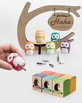 Huku Wise Owl (Portable Screwdriver) 7pc - (Assorted Colors)