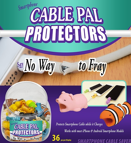 CABLE PAL PROTECTORS -SMARTPHONE CABLE PROTECTOR