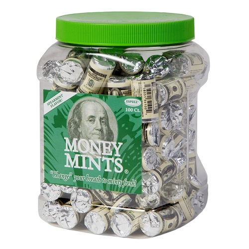 MONEY MINTS 7CT ROLL JAR (100CT)