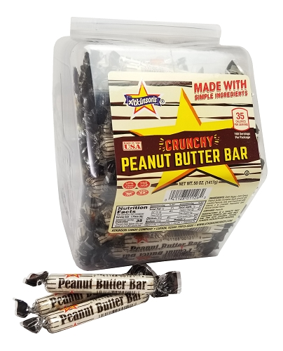 PEANUT BUTTER BARS FUN SIZE 160/CT Tub