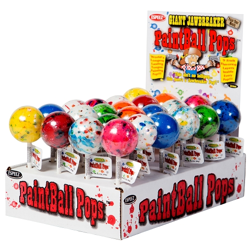 Espeez Paintball Pops 24ct Display