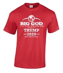 TRUMP 2020 Patriotic BIG GOD Little Problem® T-Shirt