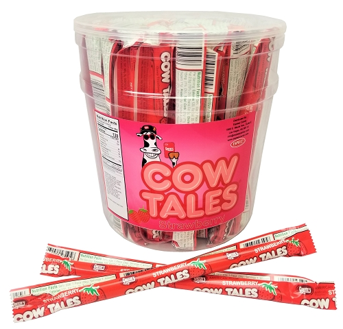 STRAWBERRY COW TALES 72/CT Tub