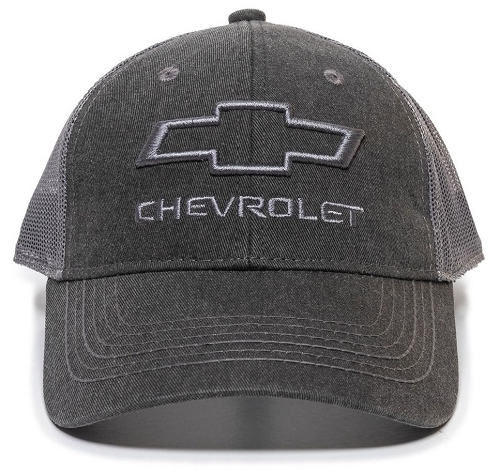 Chevy Black/Grey Cap