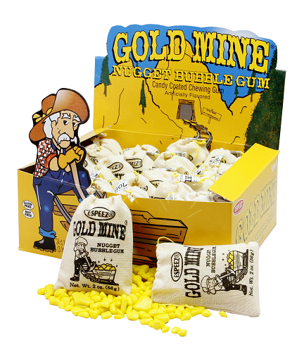 GOLD MINE GUM 2OZ BAGS