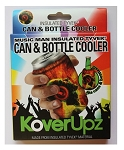 KOVERUPZ  TYVEK INSULATED CAN & BOTTLE COOLER MUSIC MAN DESIGN