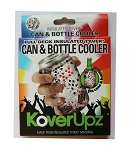 KOVERUPZ  TYVEK INSULATED CAN & BOTTLE COOLER FULL DECK DESIGN