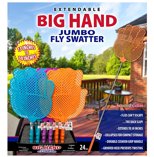 Jumbo Fly Swatter 24ct Display