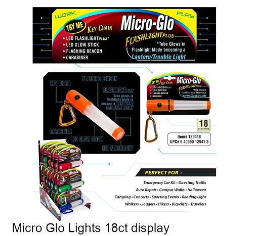 Micro Glow Lite 18ct Display