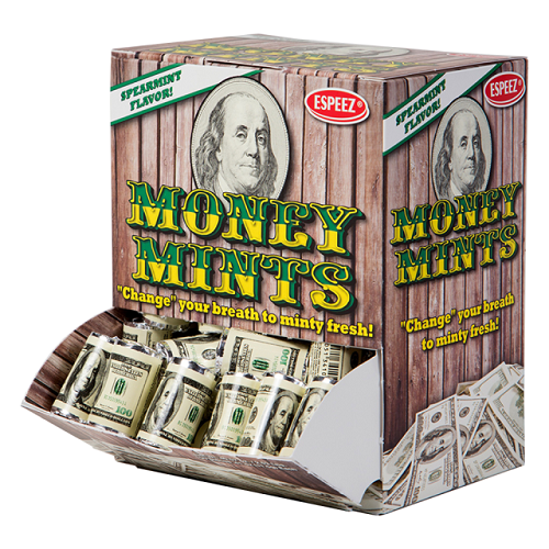 MONEY MINTS 7CT ROLL display (100CT)