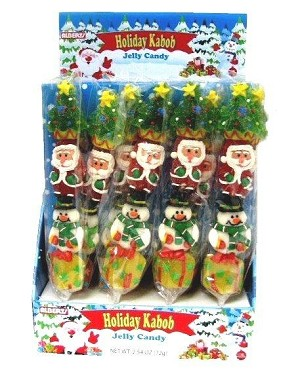 Holiday Kabob Jelly Candy