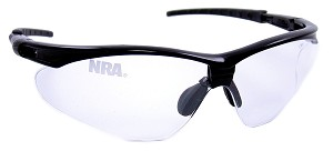Official Licensed National Rifle Association (NRA) Shooting Glasses 6104