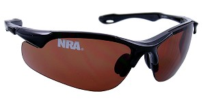 Official Licensed National Rifle Association (NRA) Shooting Glasses 6202