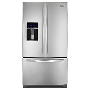 Discount Whirlpool 25 cu ft French Door Refrigerator