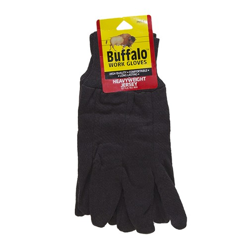 Buffalo Heavy Weight Brown Jersey Glove