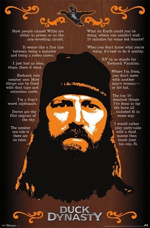 Official License Duck Dynasty Jase Poster