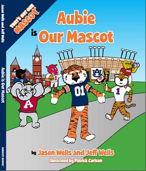"SEC Football Auburn University Tigers ""Aubie is our Mascot"" Children's Book"