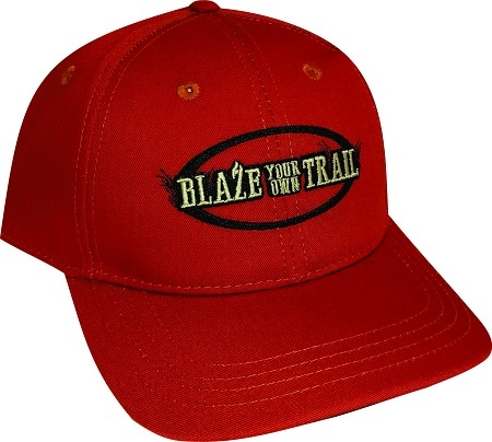 Blaze your own Trail  BURNT ORANGE Cap